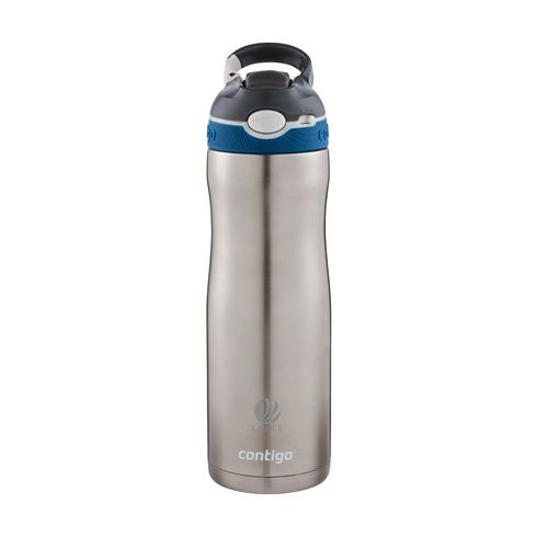 Contigo Ashland Chill drinkfles 590 ml zilver